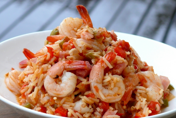 Jambalaya with Shrimp and Ham | Noble Pig
