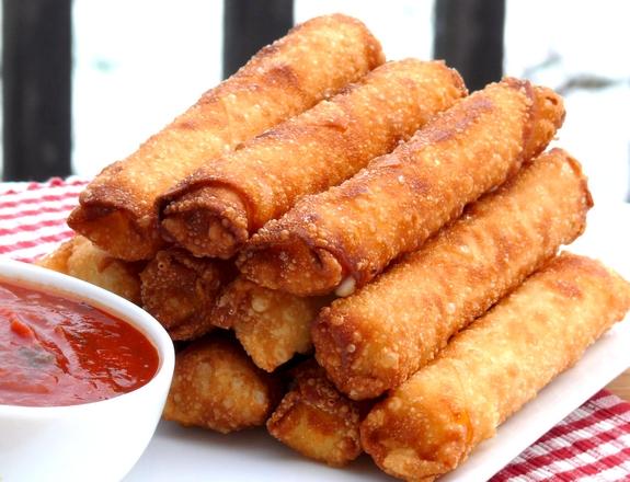 Fried Mozzarella-Pepperoni Sticks ~ Made Easy | Noble Pig