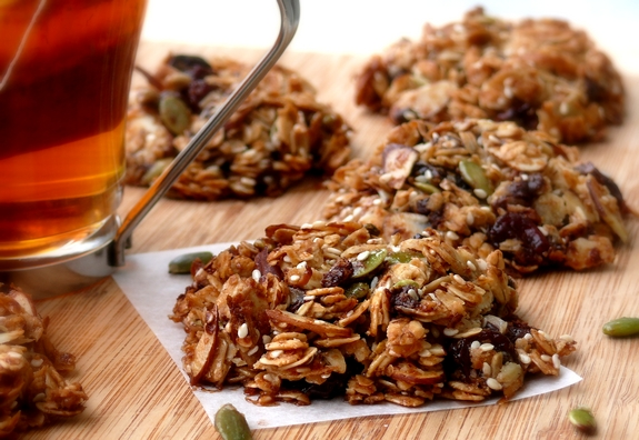 Cherry Nut Granola Recipe — Dishmaps