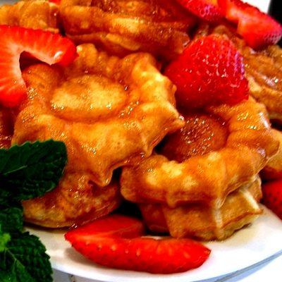 The Best Belgian Waffles