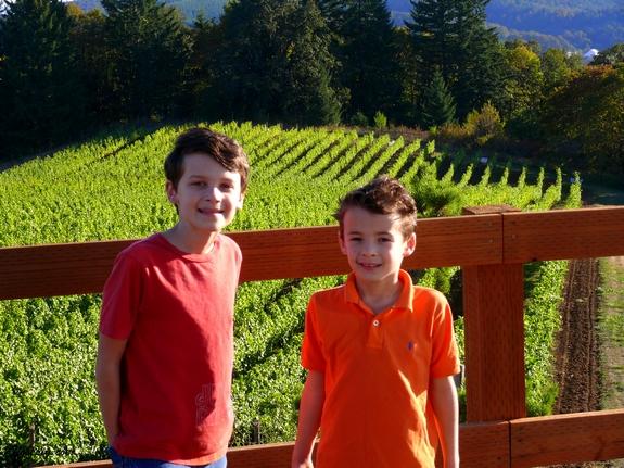 Benjamin and Jonathan Pollak Noble Pig Vineyard and Winery