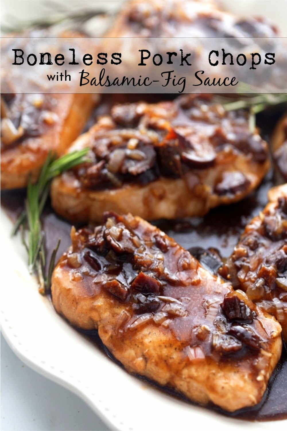 Ordinary pork chops turned extraordinary with a quick and easy balsamic vinegar sauce. This sauce is a secret weapon when it comes to jazzing up a midweek meal. via @cmpollak1