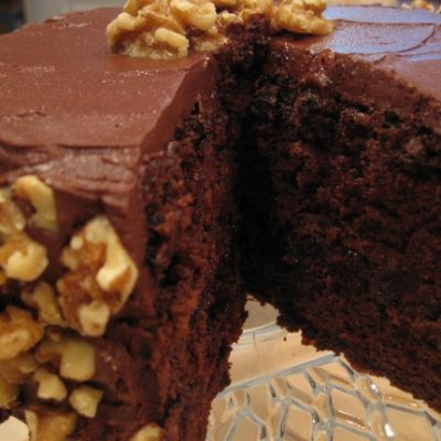 Guinness Stout Chocolate Layer Cake