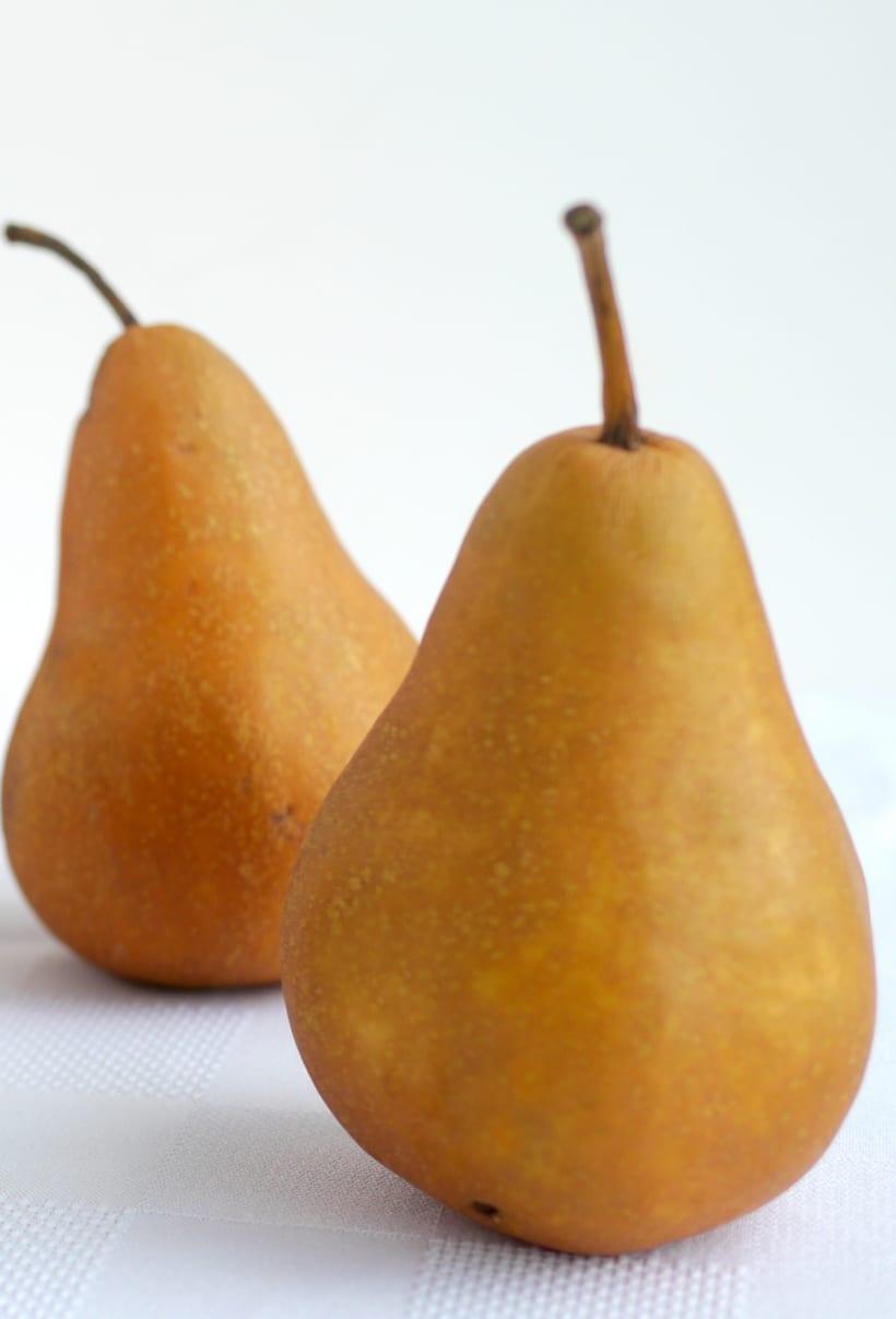 Bosc pears.