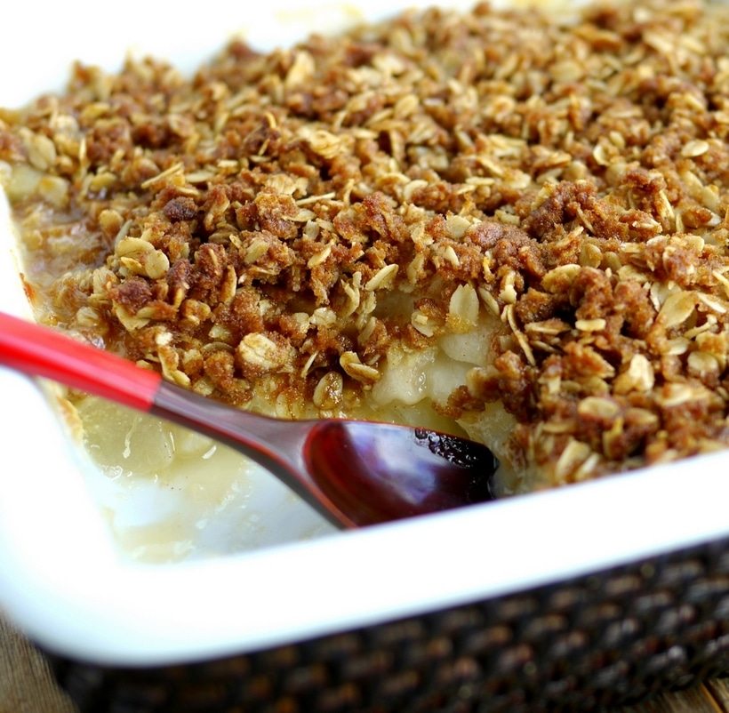 Ginger crumble