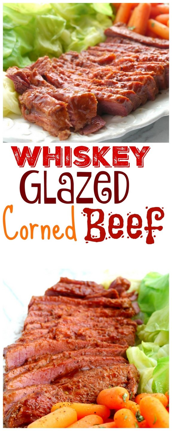 Whiskey Glazed Corned Beef
