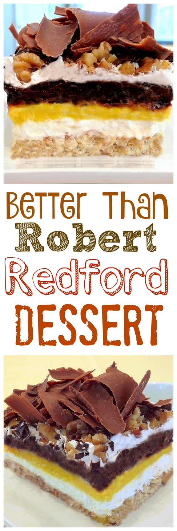 Better than Robert Redford Dessert