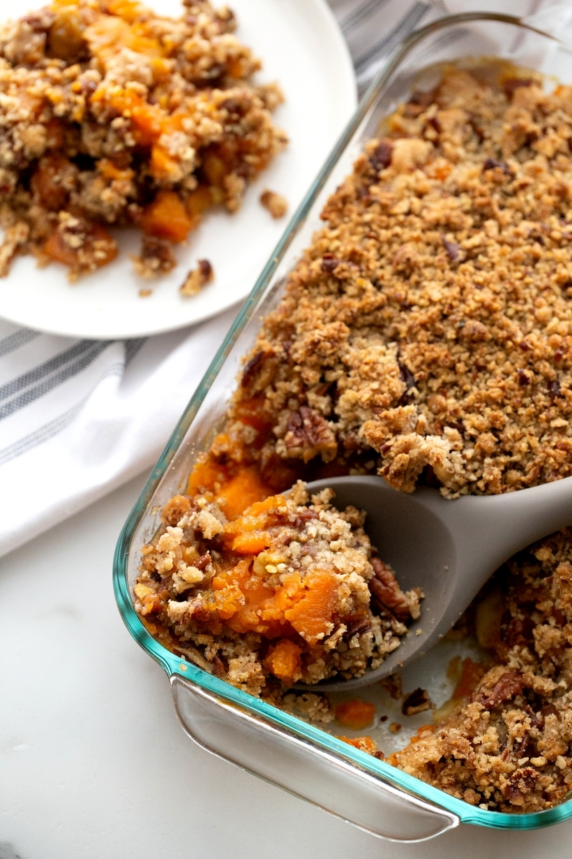 Streuseled Sweet Potato casserole Recipe