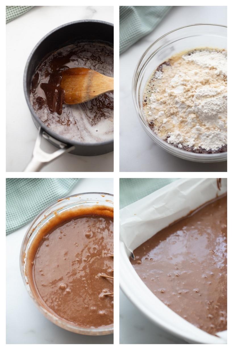 ingredients mint julep brownies