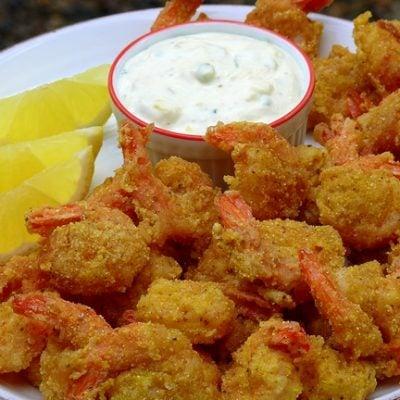 All-You-Can-Eat Crisp Cornmeal Shrimp