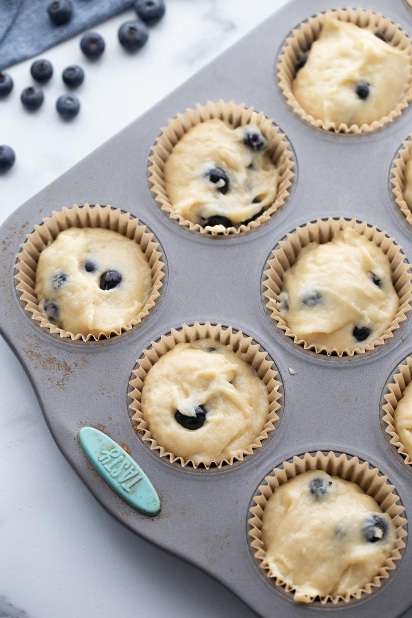 cream muffins recipe