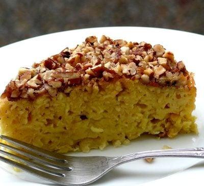 Apple Matzo Cake