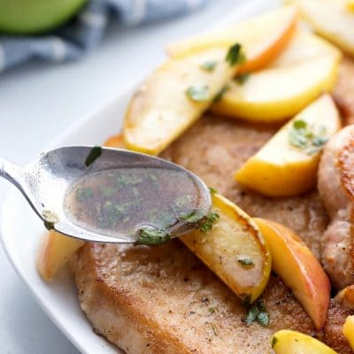 Pork Cutlets with apples