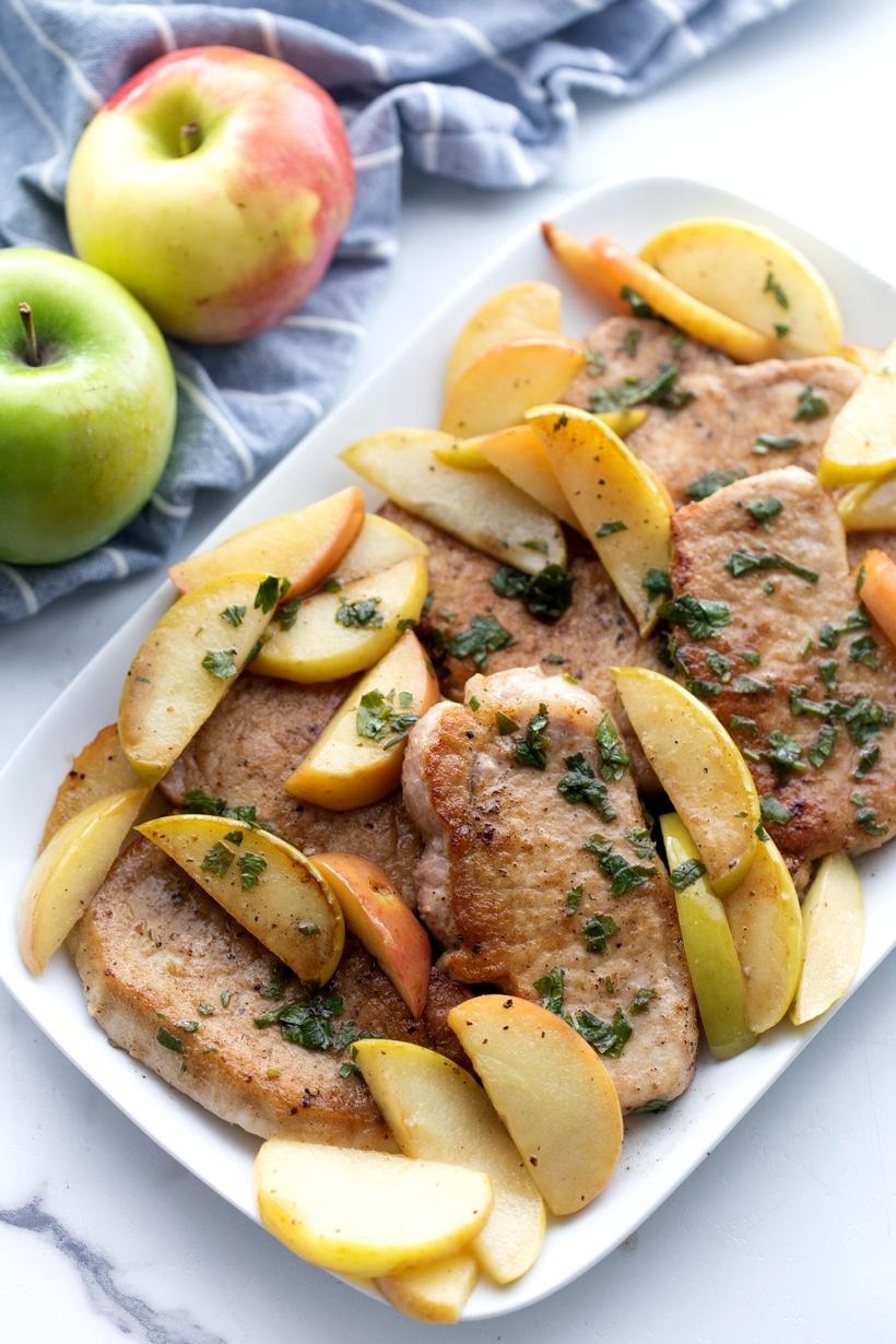 pork apple dinner