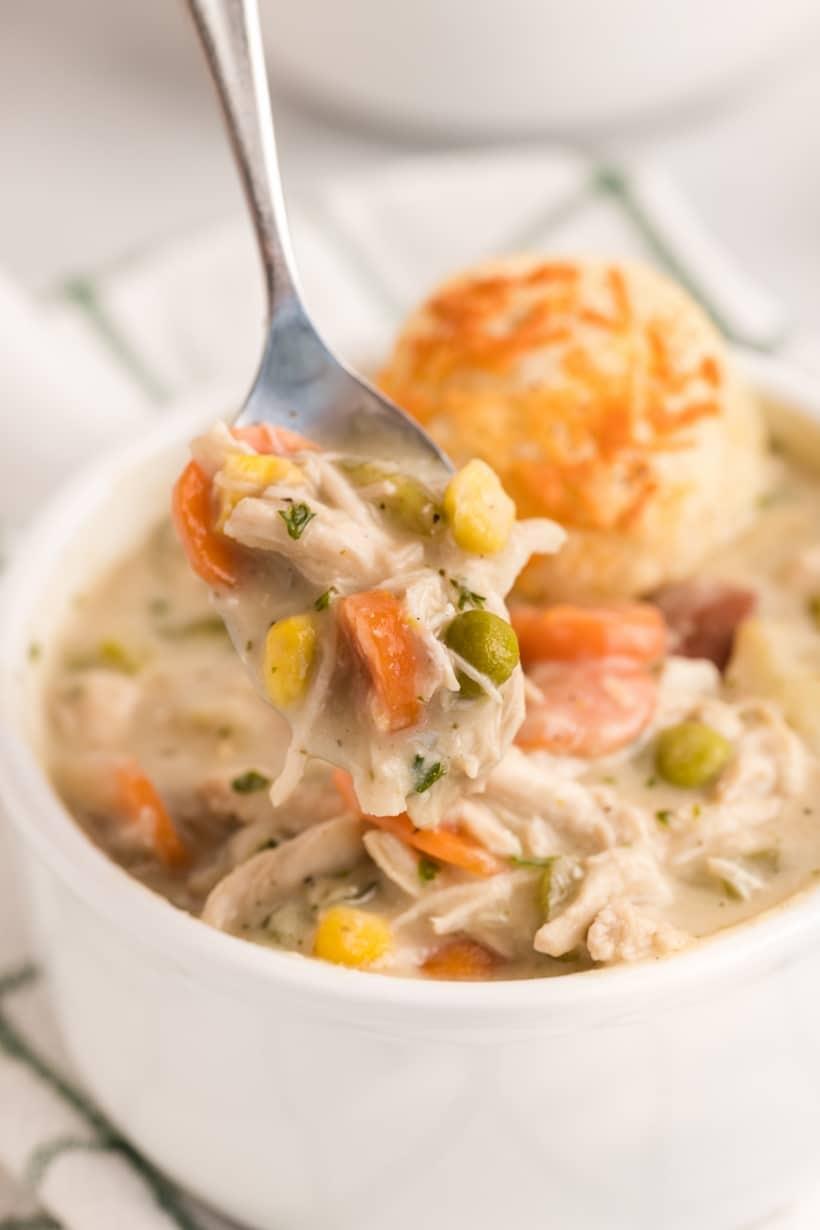 chicken pot pie bowl