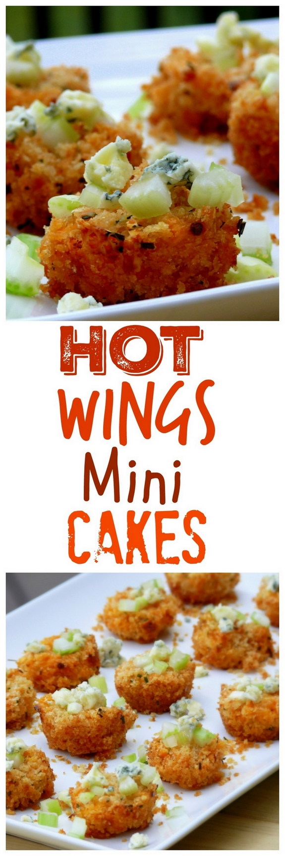 Hot Wing Mini Cakes