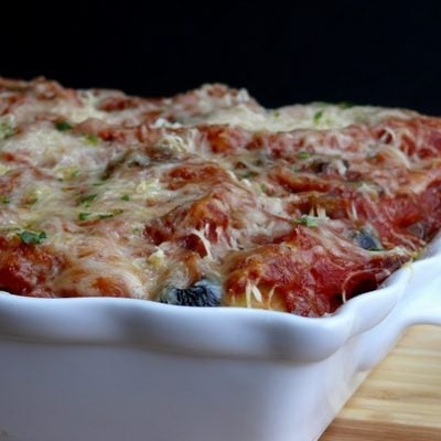 Penne Pasta Pizza Bake