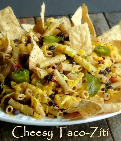 Cheesy Taco-Ziti