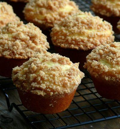 Streuseled Honey-Butter Breakfast Muffins