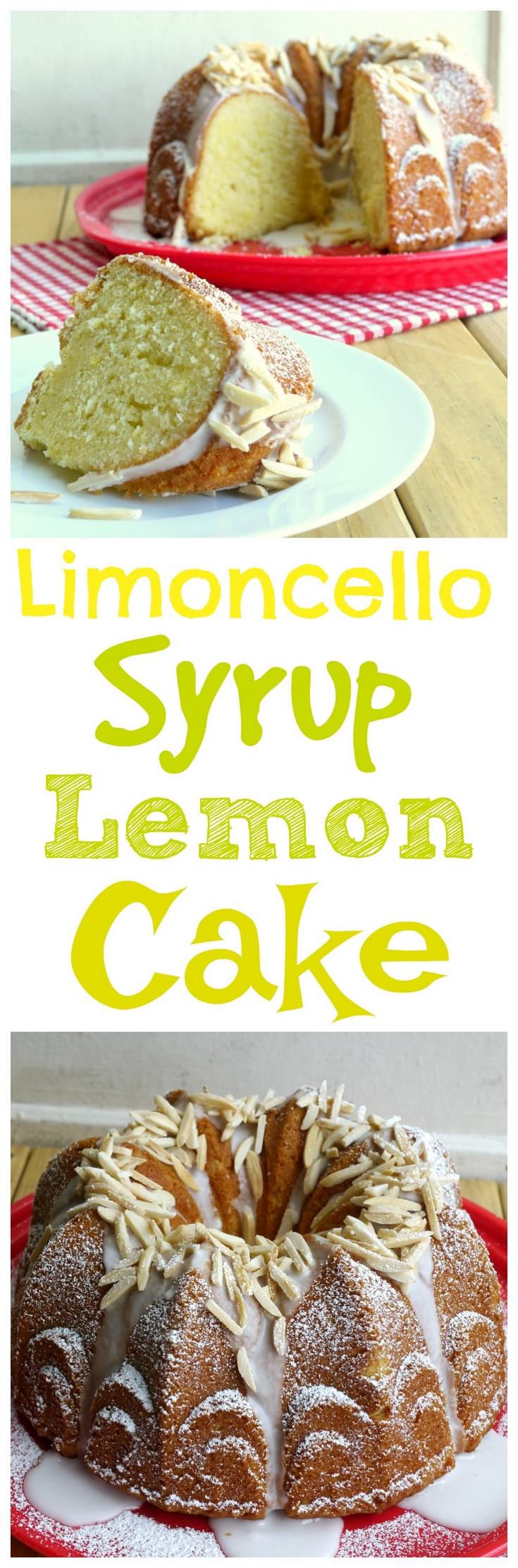 VIDEO + RECIPE: Lemon lovers, this delicious Limoncello Syrup Lemon Cake is for you! A classic lemon Bundt cake take up a notch with the addition of Limoncello! You are going to love the lemon madness from NoblePig.com.