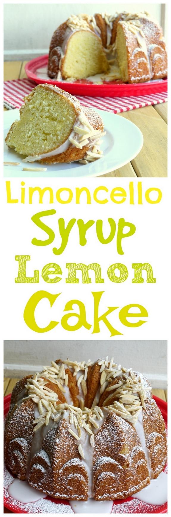 Limoncello Syrup Lemon Cake