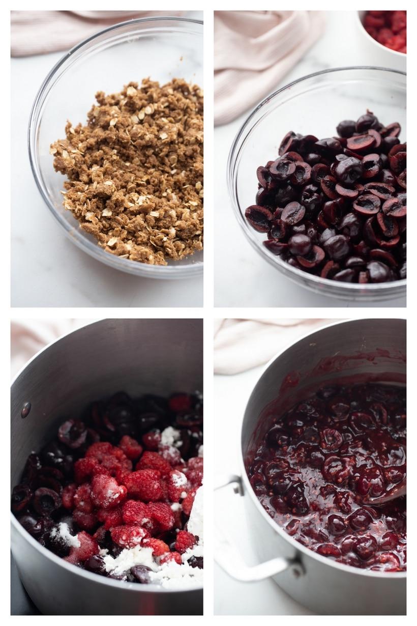 cherry crumble ingredients
