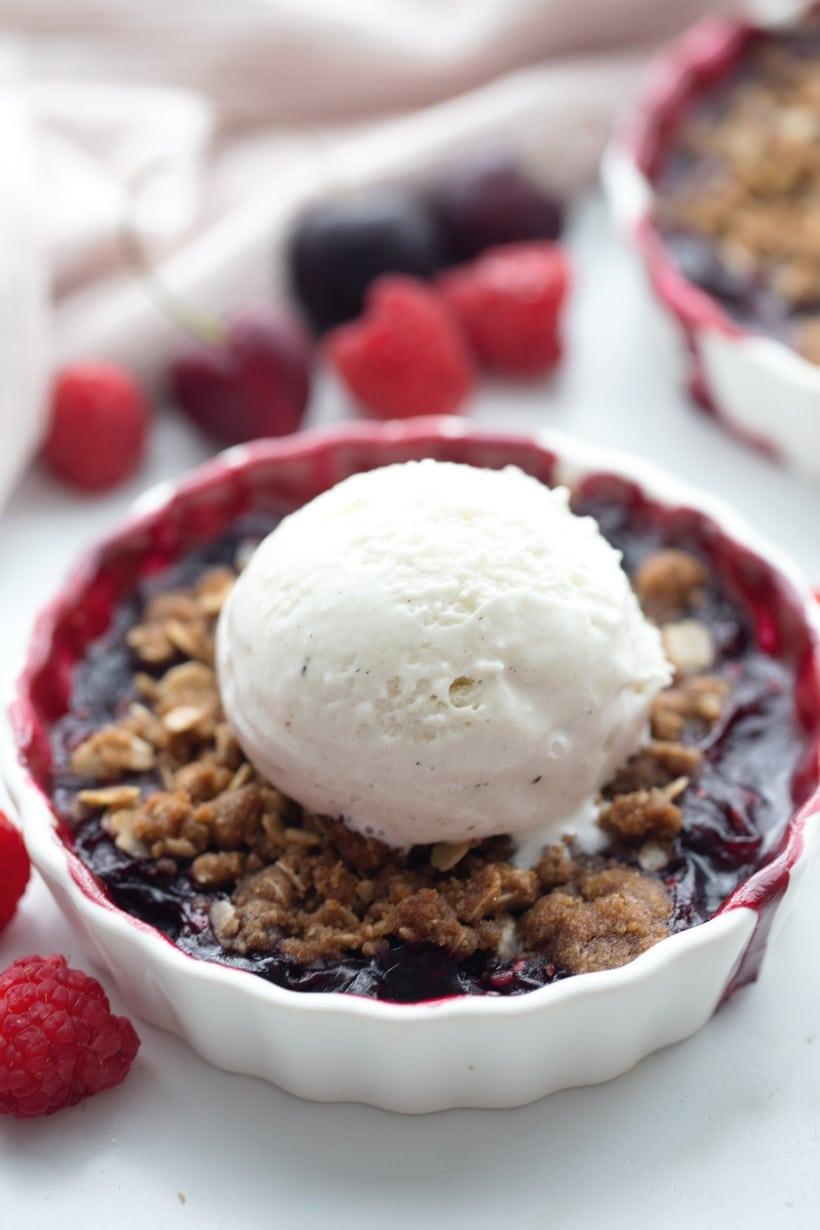 fresh cherry dessert recipe