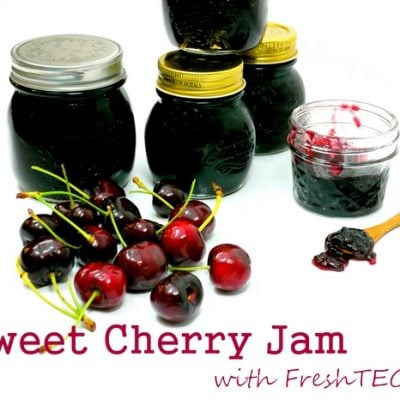 Sweet Cherry Freezer Jam