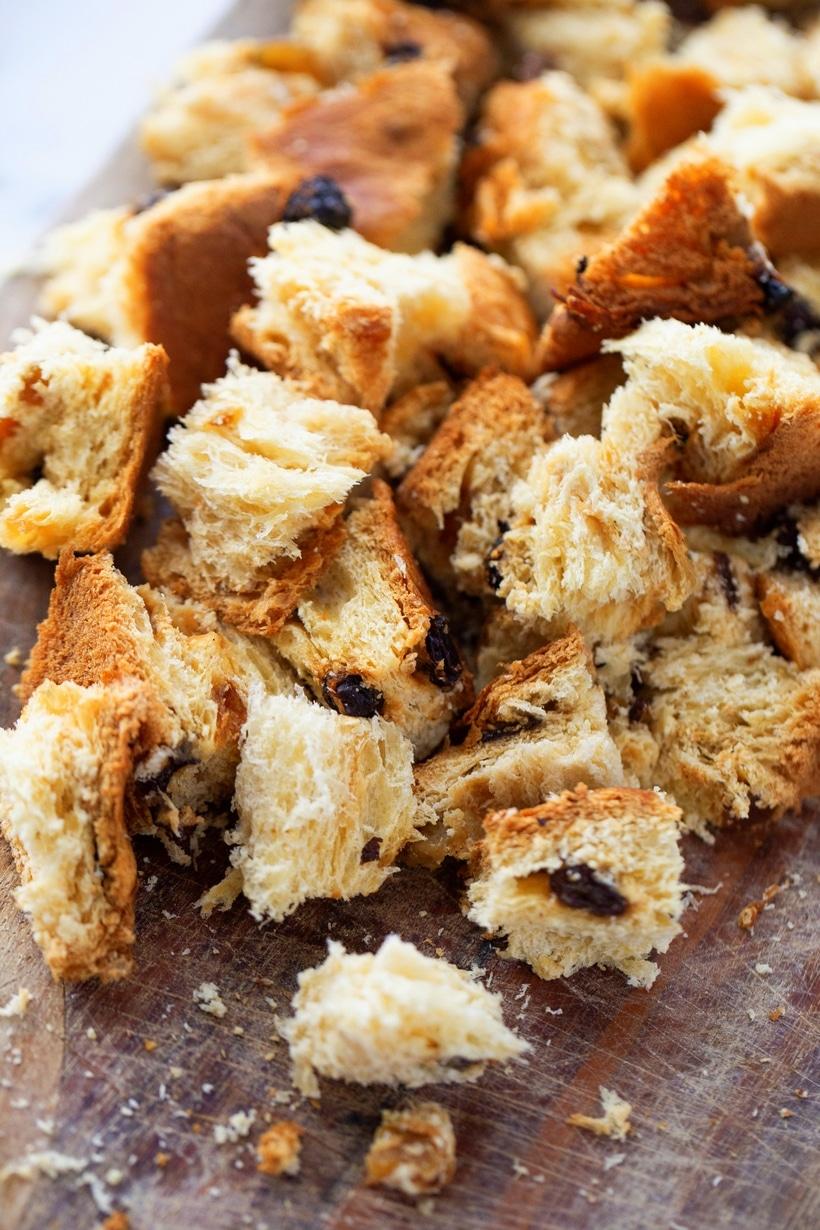 pannetone french toast bake