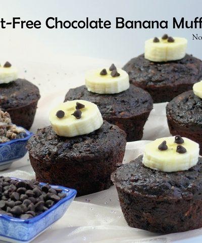 Guilt-Free Chocolate Banana Muffins