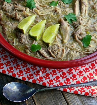 Slow Cooker Pulled Pork Chile Verde
