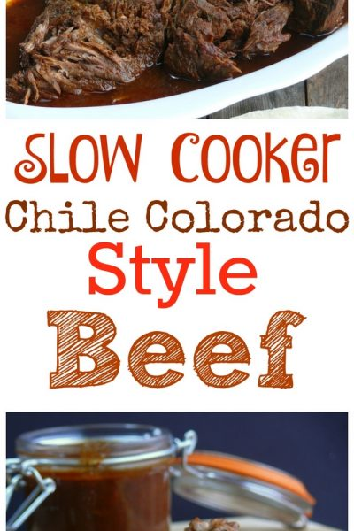 Slow Cooker Chile Colorado Style Beef + Video