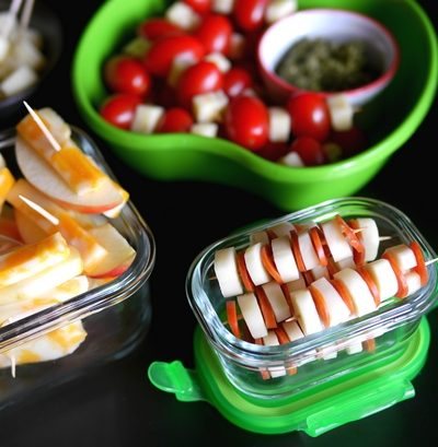 3 Fun Lunch Box Ideas with Cheese