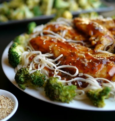 Chicken and Toasted Sesame Skillet Sauce
