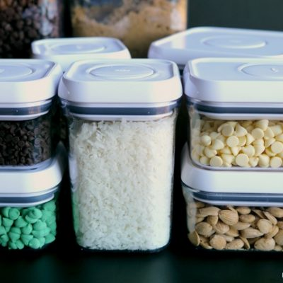 Reorganizing the Baking Cabinet