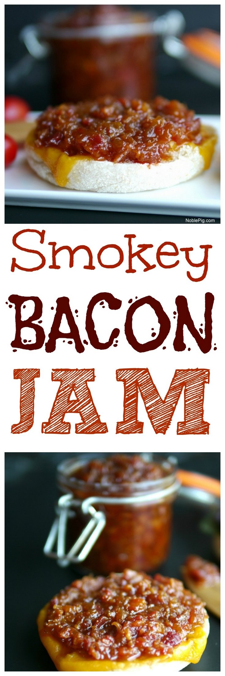 VIDEO + RECIPE: Look no further for the perfect spread for your toast, burger or anything else you can think up. This Smokey Bacon Jam is going to take your sandwiches to the next level of delicious from NoblePig.com. via @cmpollak1