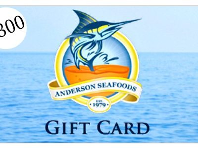 $300 Anderson Seafoods Giveaway