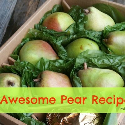 8 Awesome Pear Recipes & a Harry & David Pear Giveaway