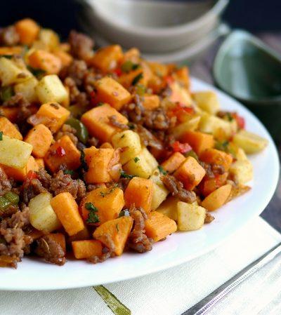 Sausage and Sweet Potato Hash + Video