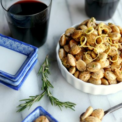 Lemon Pepper-Rosemary Marcona Almonds