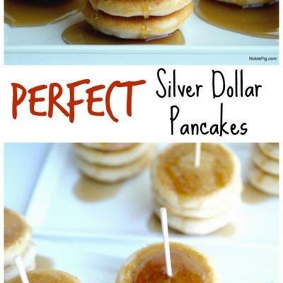 Perfect Silver Dollar Pancakes