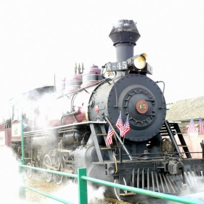 California Travel: Riding the Skunk Train through California's Coastal Redwoods