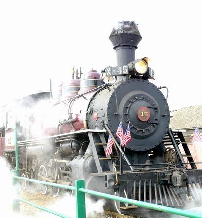 California Travel: Riding the Skunk Train through California's Coastal Redwoods