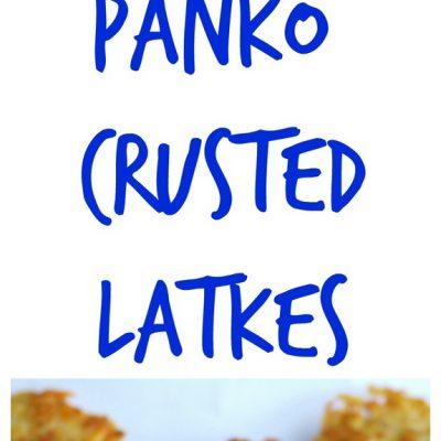 Panko Latkes with Horseradish Sour Cream