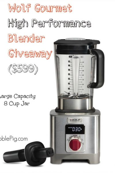 (Giveaway) Wolf Gourmet High Performance Blender ($599)