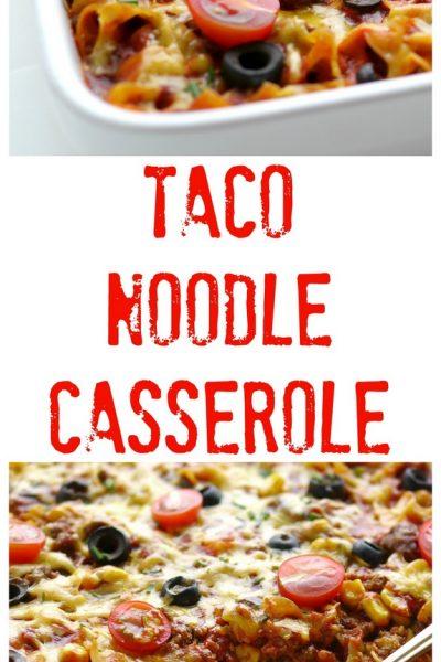 Taco Noodle Casserole