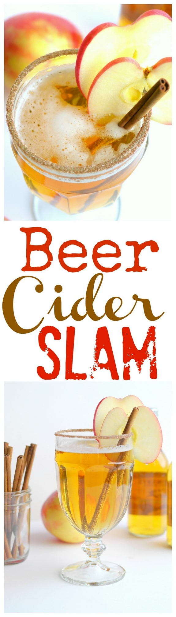 This Beer-Cider Slam is here just in time to help cheer on your team for March Madness! Have you ever tried a beer cocktail? It's time, it's time...you'll be surprised how awesome they are. via @cmpollak1
