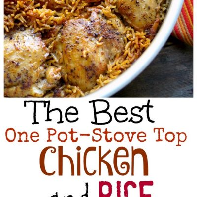The Best One Pot-Stove Top Chicken and Rice