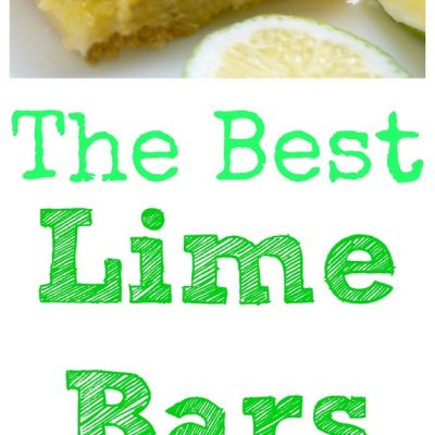 The Best Lime Bars