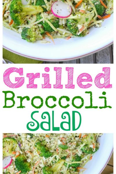 Grilled Broccoli Salad
